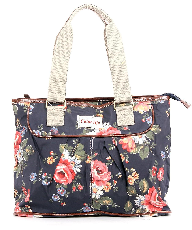 Charming New Style Matt Finish Ladies Oilcloth Day Bag