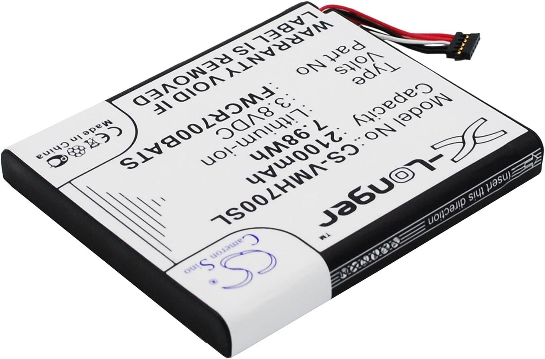 Cameron-Sino Replacement Battery for Verizon Hotspot Ellipsis Jetpack Ellipsis Jetpack 4G MHS800L MHS700L MHS700LPP