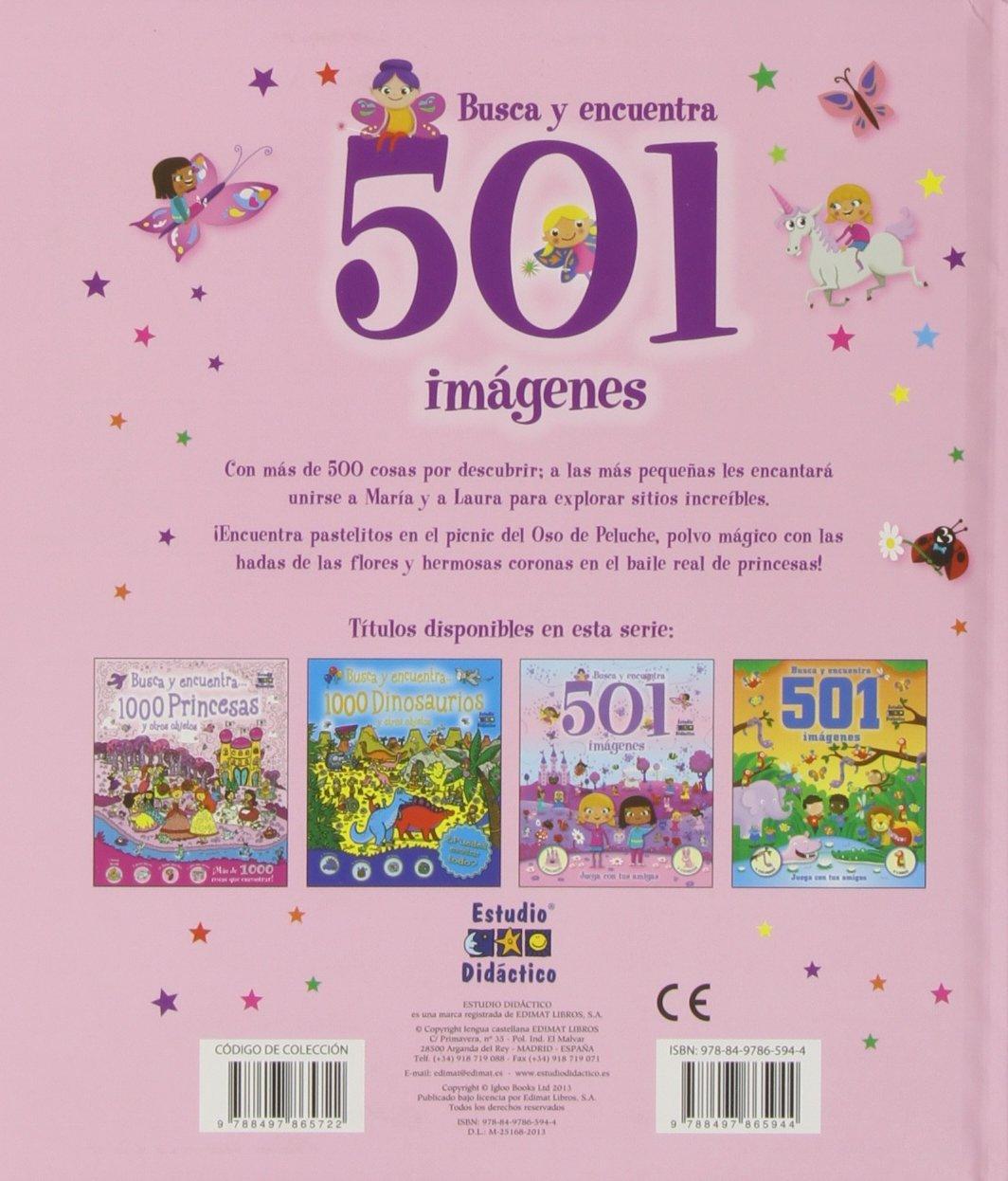 Busca y encuentra 501 imágenes con tus amigas: Equipo editorial: 9788497865944: Amazon.com: Books