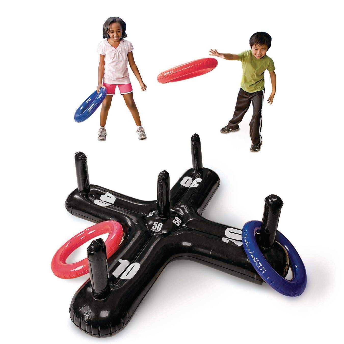 S&S Worldwide Jumbo Inflatable Ring Toss by S&S Worldwide