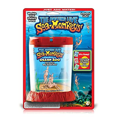 Amazing Live Sea Monkey's Ocean Zoo - (Color/Styles Vary): Toys & Games