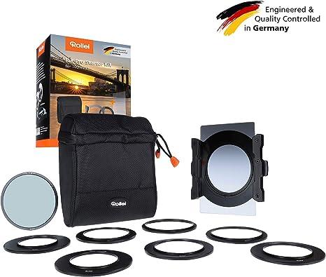 Rollei F:X Pro Starter Kit I Portafiltros para filtros de 100mm, Incl. Filtro: Amazon.es: Electrónica