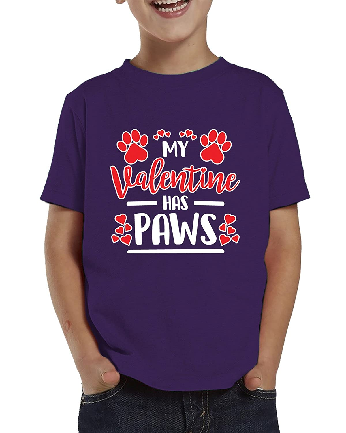 SpiritForged Apparel Valentine Has Paws Toddler T-Shirt