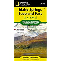 Idaho Springs, Loveland Pass (National Geographic Trails Illustrated Map, 104)