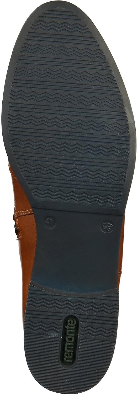 Remonte Stiefeletten in Übergrößen Grau D8581-45 D8581-45 Grau große Damenschuhe Braun 844ac7