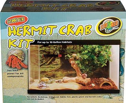 Amazon Com Zoo Med Starter Hermit Crab Starter Kit Pet Habitat