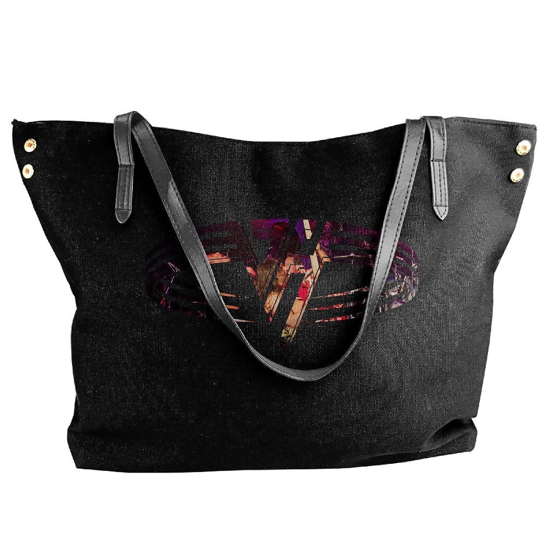 Van Band Folding Shoulder Bag For Women Black