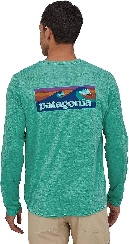 Patagonia Ms Daily Graphic Camiseta de Manga Larga Hombre