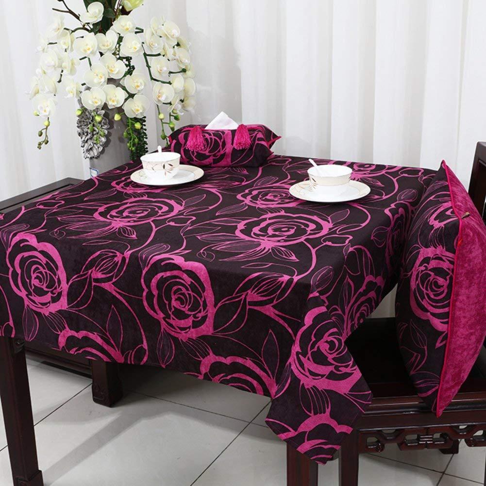 Shuangdeng Europeantyle牧歌的なテーブルクロスモダンなミニマリストスタイルのダイニングルームのテーブルクロス (Color : E, サイズ : 140x220cm(55x87inch)) 140x220cm(55x87inch) E B07SCKDR64