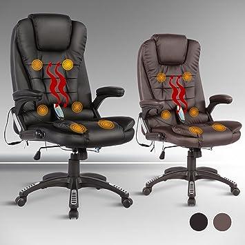 Uenjoy Massage Bürostuhl 6 Punkt Massagesessel Relax Sessel