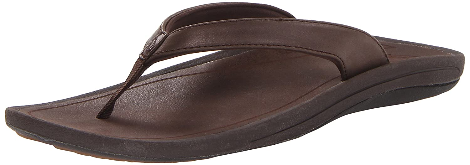 OLUKAI Women's Kulapa Kai Leather B00DNNWIBK 8 B(M) US|French Roast/French Roast