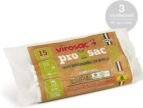 Virosac - Bolsas para residuos biodegradables con tirantes ...