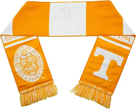 Tradition Scarves Tennessee Scarf Tennessee Volunteers Alternate Anthracite Knitted