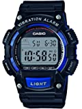 Casio Collection Herrenuhr Digital mit Resinarmband – W-736H