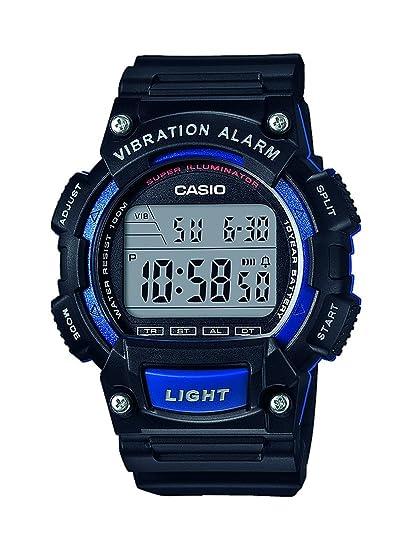 Casio Reloj Digital para Hombre de Cuarzo con Correa en Resina W-736H-2AVEF: Amazon.es: Relojes