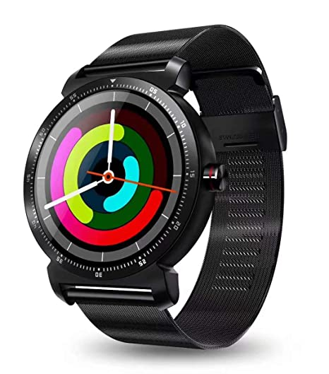Amazon.com: Bond K88H Reloj inteligente de acero inoxidable ...