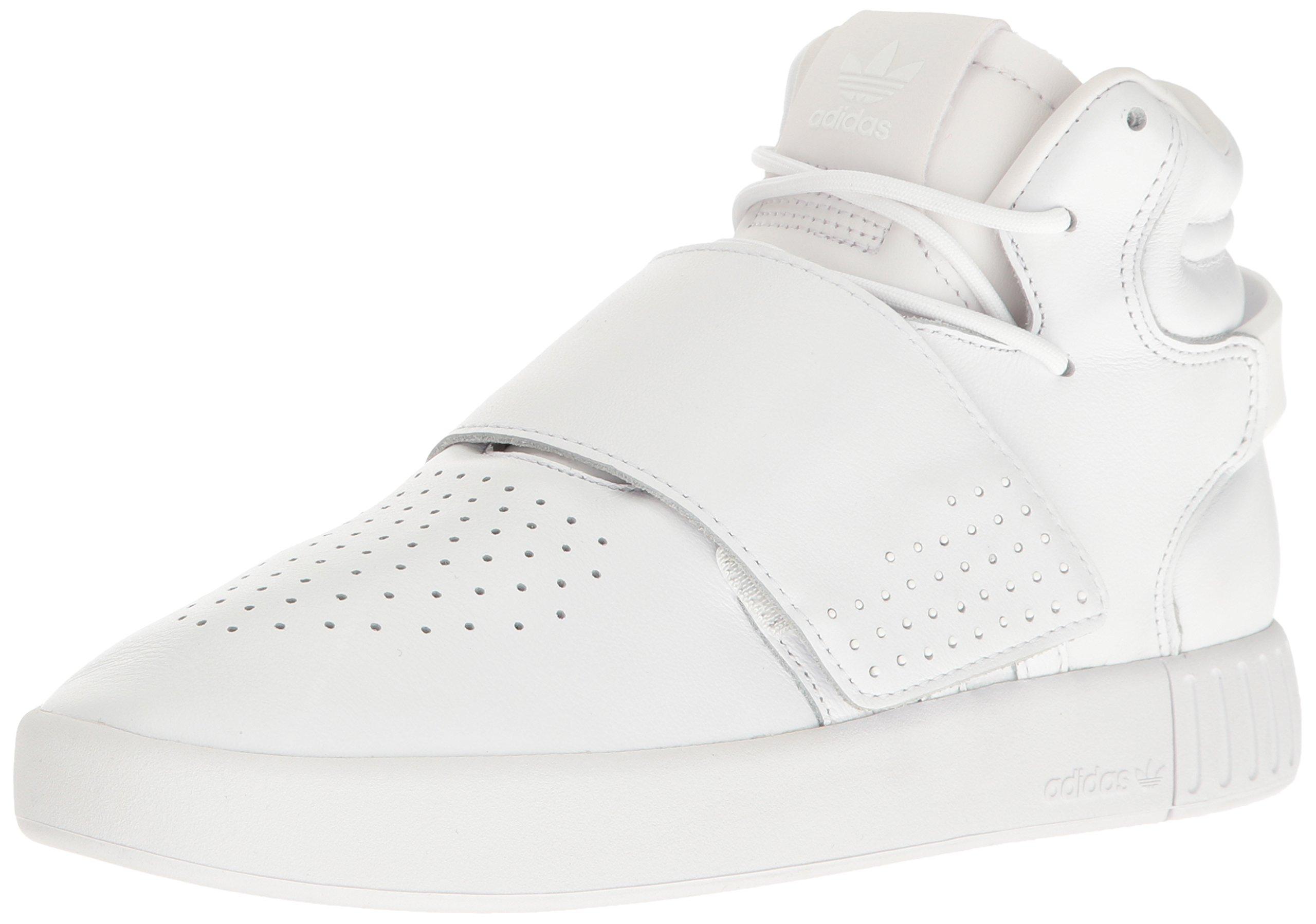 more photos 62e43 598b0 Galleon - Adidas Originals Men s Tubular Invader Strap Fashion Running Shoe,  White, (11.5 M US)