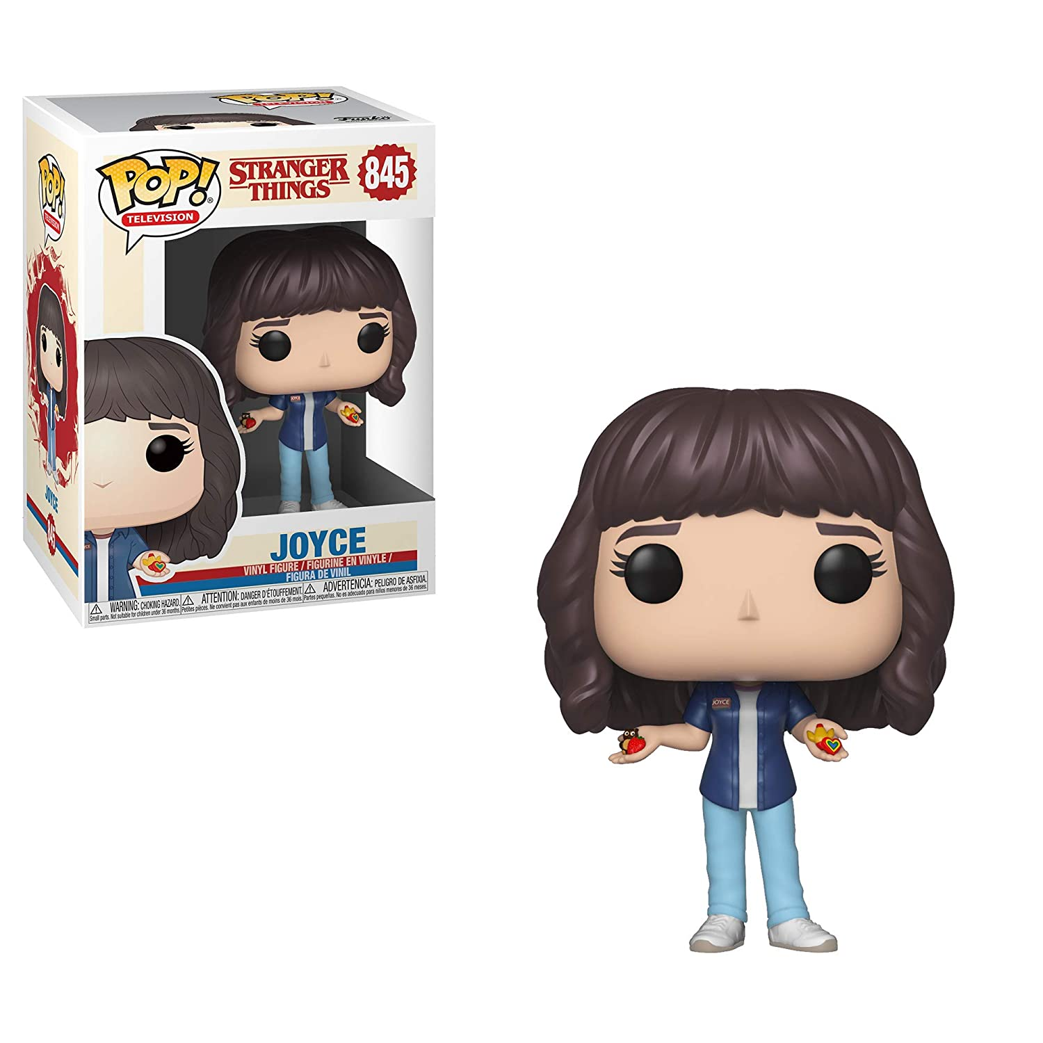 Funko- Pop Figura de Vinilo: TV: Stranger Things-Joyce Coleccionable, (40957)