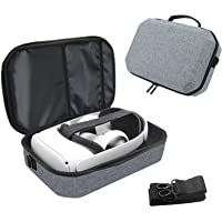 Travel Case for Oculus Quest 2 VR Gaming Headset and Controllers Accessories, Shockproof Hard Carrying Case Shoulder Bag…