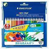 ステッドラー 色鉛筆 ノリスクラブ 消せる色鉛筆 24色 144 50NC24