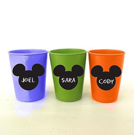 Amazon.com: Mickey Mouse pizarrón etiqueta/Pizarra Pegatinas ...