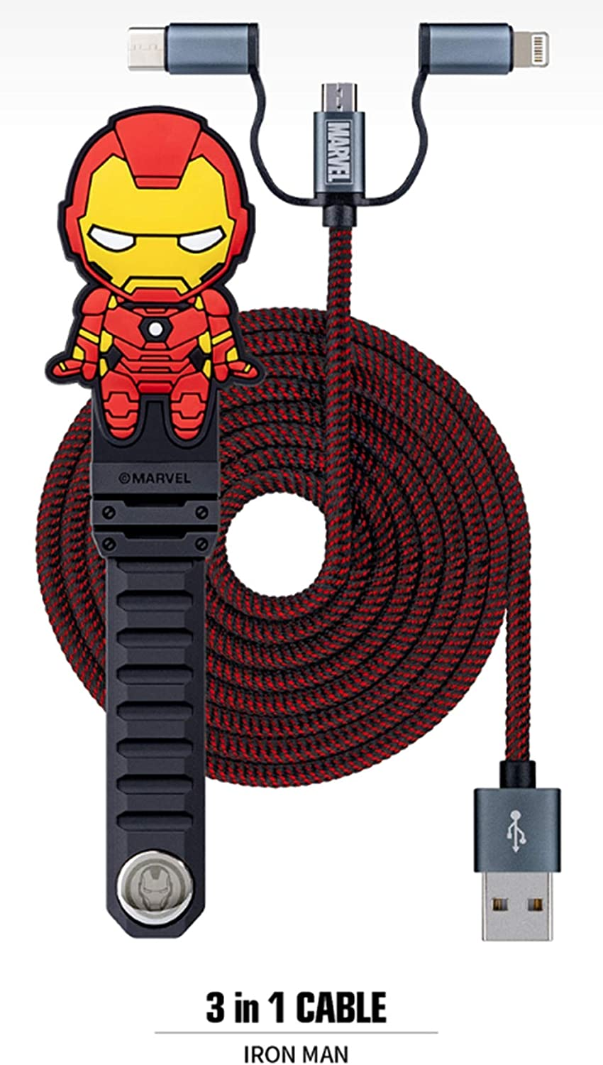 Groot Marvel Character Charger Cable-3 in 1 Multi Charger Cable