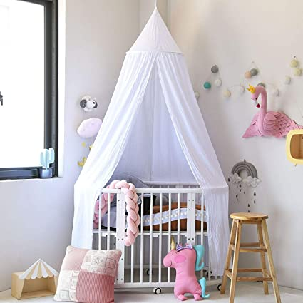Amazon Com Didihou Mosquito Net Bed Canopy Kids Canopies Round Dome