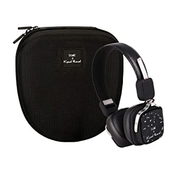 Buy Boat Rockerz 600 Wireless Bluetooth Headphones With Hd Sound Integrated Controls In Built Mic Boat X Kunal Rawal Edition Victoria Black Online At Low Prices In India Amazon In