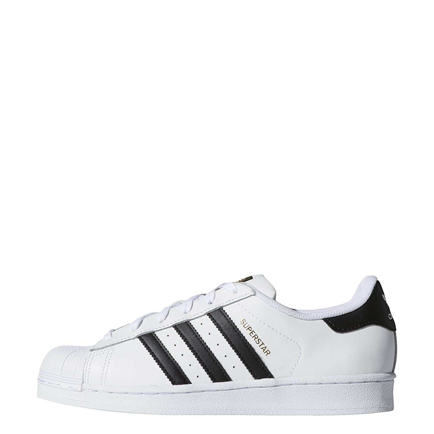 adidas Superstar Black W, Sneakers Basses Femme, Weiß Footwear 19092 White White Core Black b84285d - shopssong.space