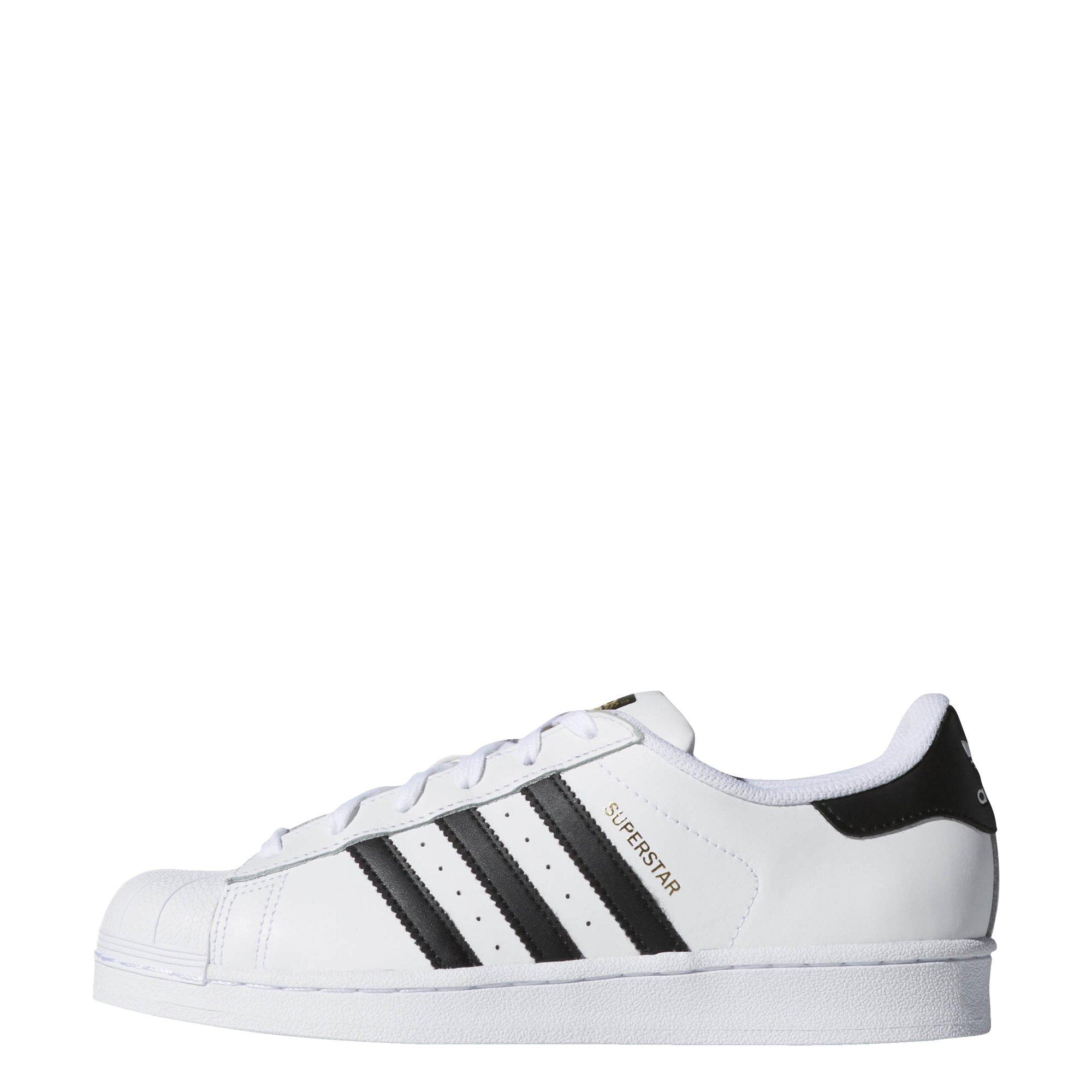 adidas Originals Women's Superstar Sneaker, Black/White, 10 by adidas Originals
