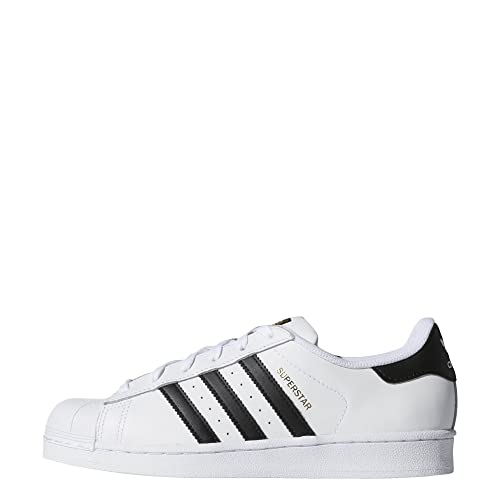 reputable site 99121 5f752 Adidas Originals - Zapatillas Superstar para Mujer, Blanco Negro Blanco, (8