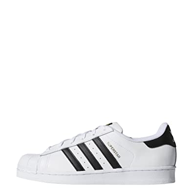 adidas Originals Women's Superstar Shoes, White/Black/White, ...