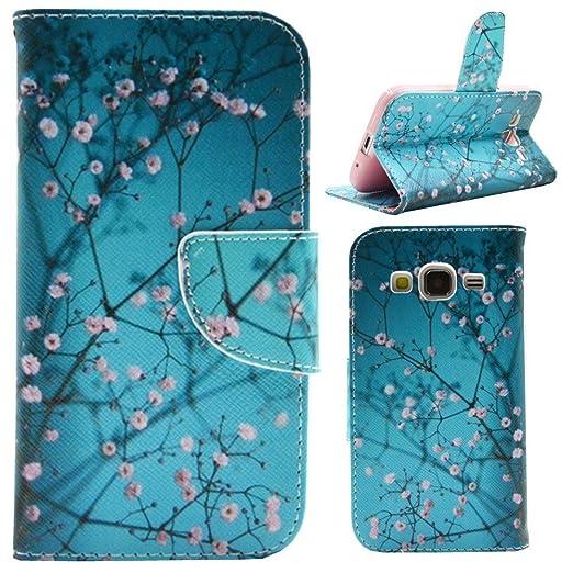 14 opinioni per HUANGTAOLI Custodia in Pelle Portafoglio Flip Case Cover per Samsung Galaxy Core