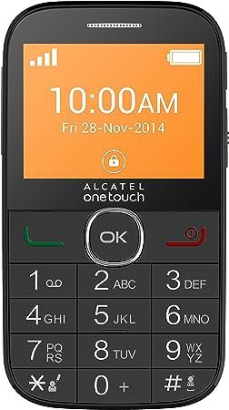 Alcatel 20.04G Smartphone Libre 2G (Pantalla: 2,4 Pulgadas – 8 MB ...