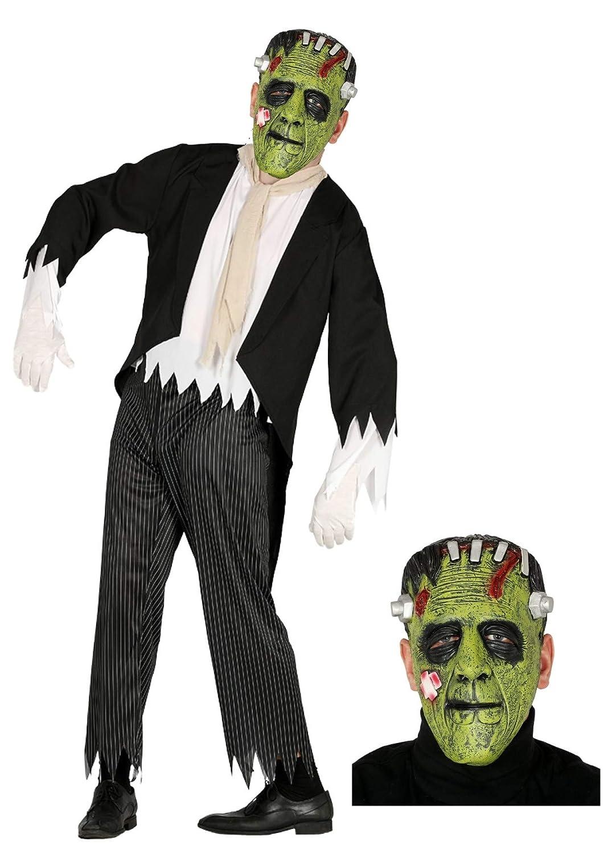 Disfraz de Franky novio con mascara: Amazon.es: Ropa y accesorios