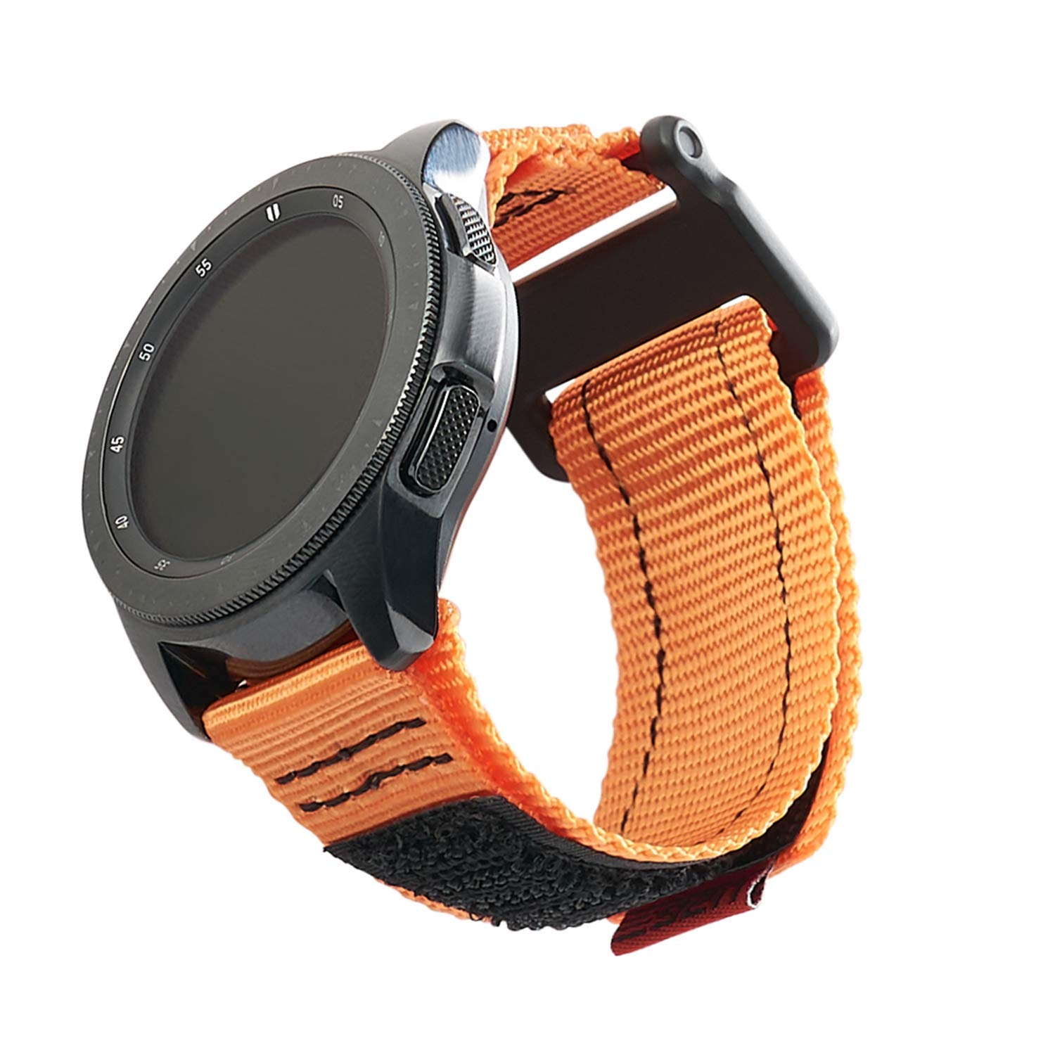 URBAN ARMOR GEAR UAG Compatible with Samsung Galaxy Watch Band 46mm/Galaxy Watch Active 2/Gear S3, fits Most 22mm Watch Lugs, Active Orange