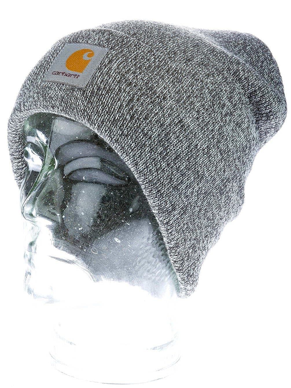 39b3571131f4b Carhartt Beanie SCOTT WATCH CAP dark grey heather white  Amazon.co.uk   Clothing