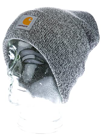 3d8d445b087 Carhartt Beanie SCOTT WATCH CAP dark grey heather white  Amazon.co.uk   Clothing
