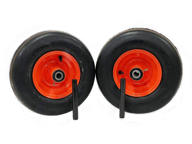 K3091-18030 NoAir Z421KW Replaces K3091-18020 Kubota Pneumatic Tire Assemblies 13x5.00-6 Fits Z411KW 2