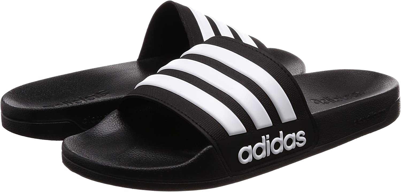 adidas Adilette Shower Chanclas Hombre 43 EU Negro 9 UK Core Black//Footwear White//Core Black 0