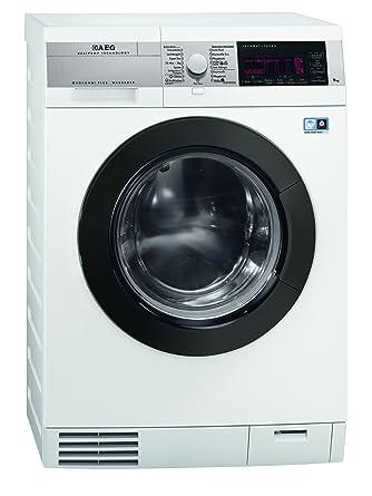 AEG L99695HWD Waschtrockner A 40 1600 UpM Waschen 9 Kg Trocknen 6 Weiss Warmepumpen Technologie Silence Motor Amazonde Elektro Grossgerate