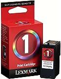 Lexmark Genuine Brand Name, OEM 18C0781 No. 1 (Lexmark #1) Color Inkjet Print Cartridge for X2350, X2470, X3470, Z735 Printers