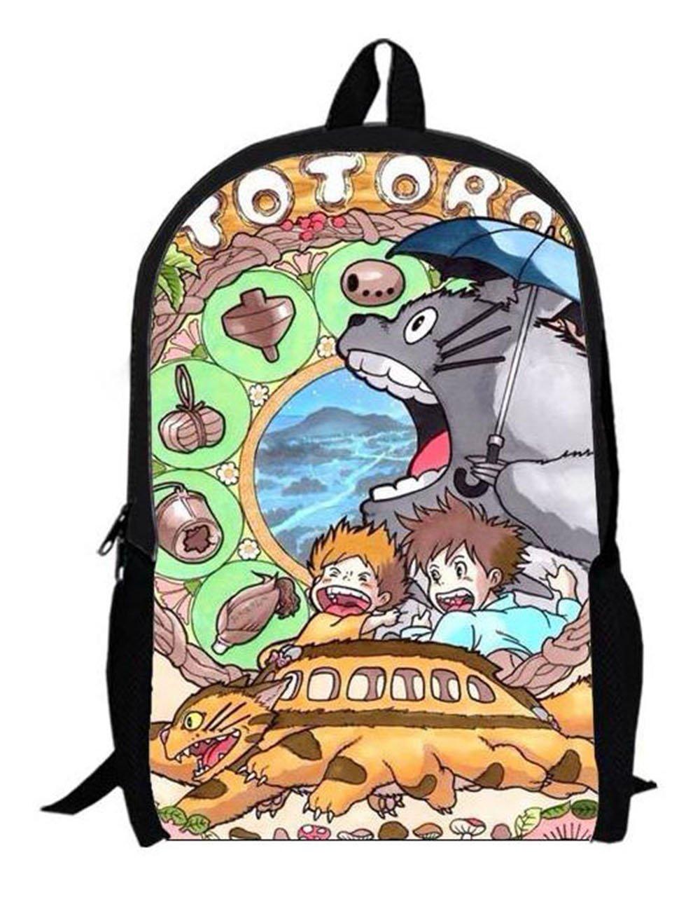 Myheartgoon Children's Cartoon Totoro Laptop Backpack Cute Travel School Coll.. 10