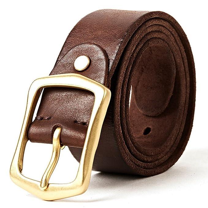 miglior sito web b3534 d37dd Cintura In Pelle Da Uomo Cintura Casual Cintura Regolabile ...