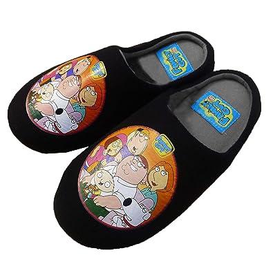ae2ab41e96c45c Family Guy TV Mens Slippers - Size - UK 11-12: Amazon.co.uk: Shoes ...