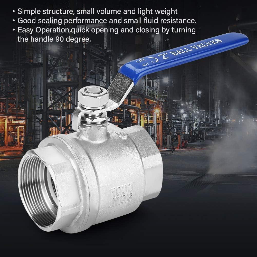 AC 220V G2 DN50 Robinet /à boisseau sph/érique motoris/é 2 voies 3 fils 2 points de contr/ôle en laiton 304 en acier inoxydable /électrique motoris/é robinet /à boisseau sph/érique pour la bobine de ventilate