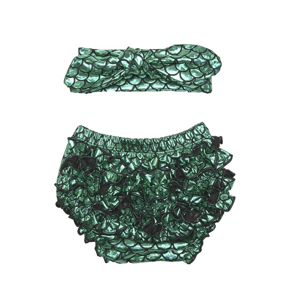 100%本物 Coralup UNDERWEAR Coralup ベビーガールズ 12-24 Months Green 2pcs Set Set Green B01N5240MX, L-flat Musik Japan エルフラット:c00832a2 --- ciadaterra.com