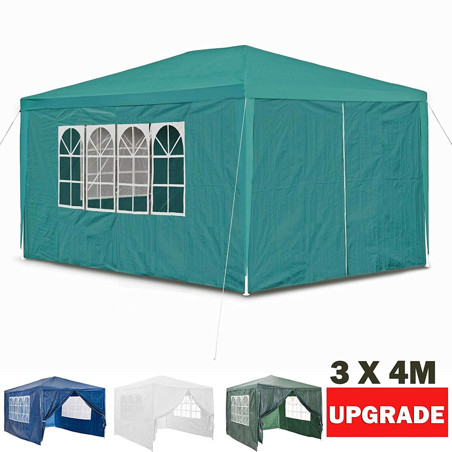 Gazebos Fully Sides Gazeebo Party Tent Events Shelters Waterproof Marquee Gazibo