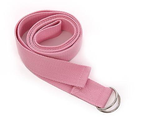 CORREA DE YOGA - Cinturón metálico ajustable en forma de ...