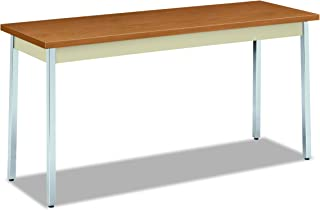product image for HON The Company Utility Table, 60 by 20 by 29-Inch, Harvest/Putty